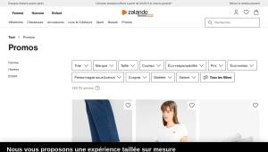 Code promo Zalando -30% sur Chaussures et Vêtements