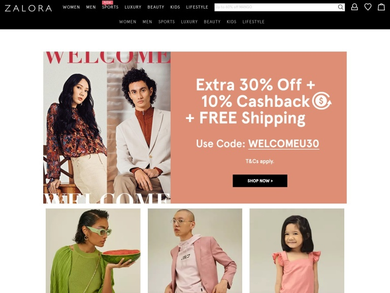 Zalora - My Coupon Codes