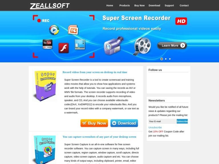 Zeallsoft screenshot