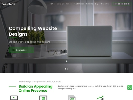 Website design and development services | Web design calicut