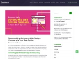 Outsource web design company | IT outsourcing services companies