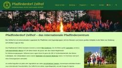 www.zellhof.at Vorschau, Pfadfinderdorf Zellhof, Mattsee