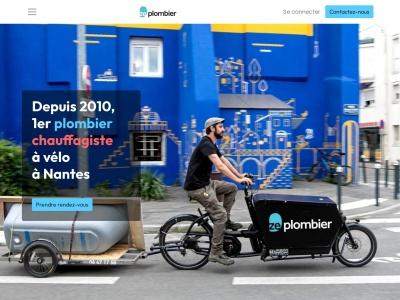 Ze Plombier : Les plombiers à vélo