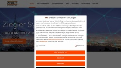 www.ziegler-systemhaus.de Vorschau, Kommunikations Dienstleister