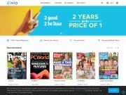 Zinio Digital Magazines coupon code