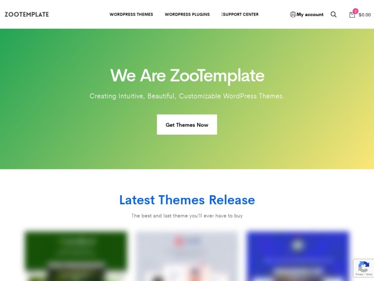 Zootemplate Coupon Codes screenshot