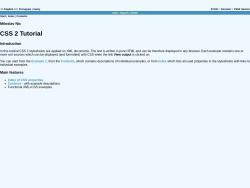 CSS 2 Tutorial