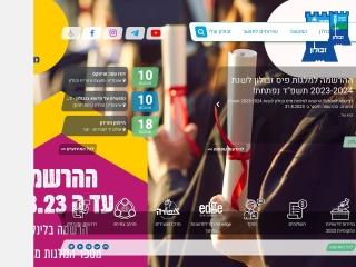 Screenshot for zvulun.org.il