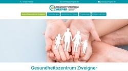 www.zweigner.de Vorschau, Uwe Zweigner - Physiotherapeut