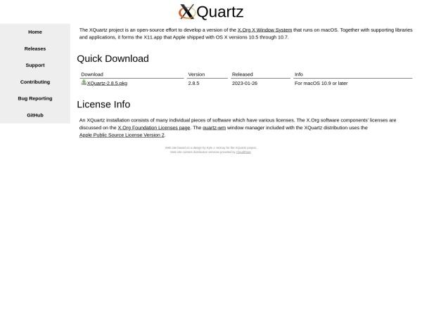 http://xquartz.macosforge.org/landing/