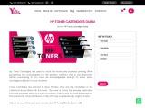 HP Toner Cartridges Dubai yalla