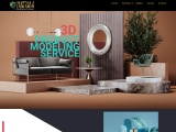 Office furniture  design of 3d Product visualization services, San Antonio – Texas
