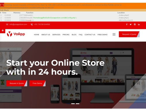 e-commerce Android, Mobile App Development Services for Business   Yo App Store