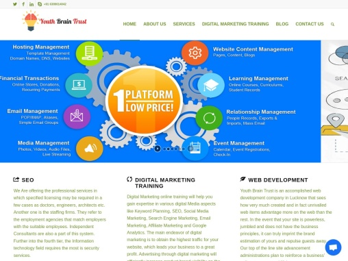 Best seo services & web develeopment company in lucknow