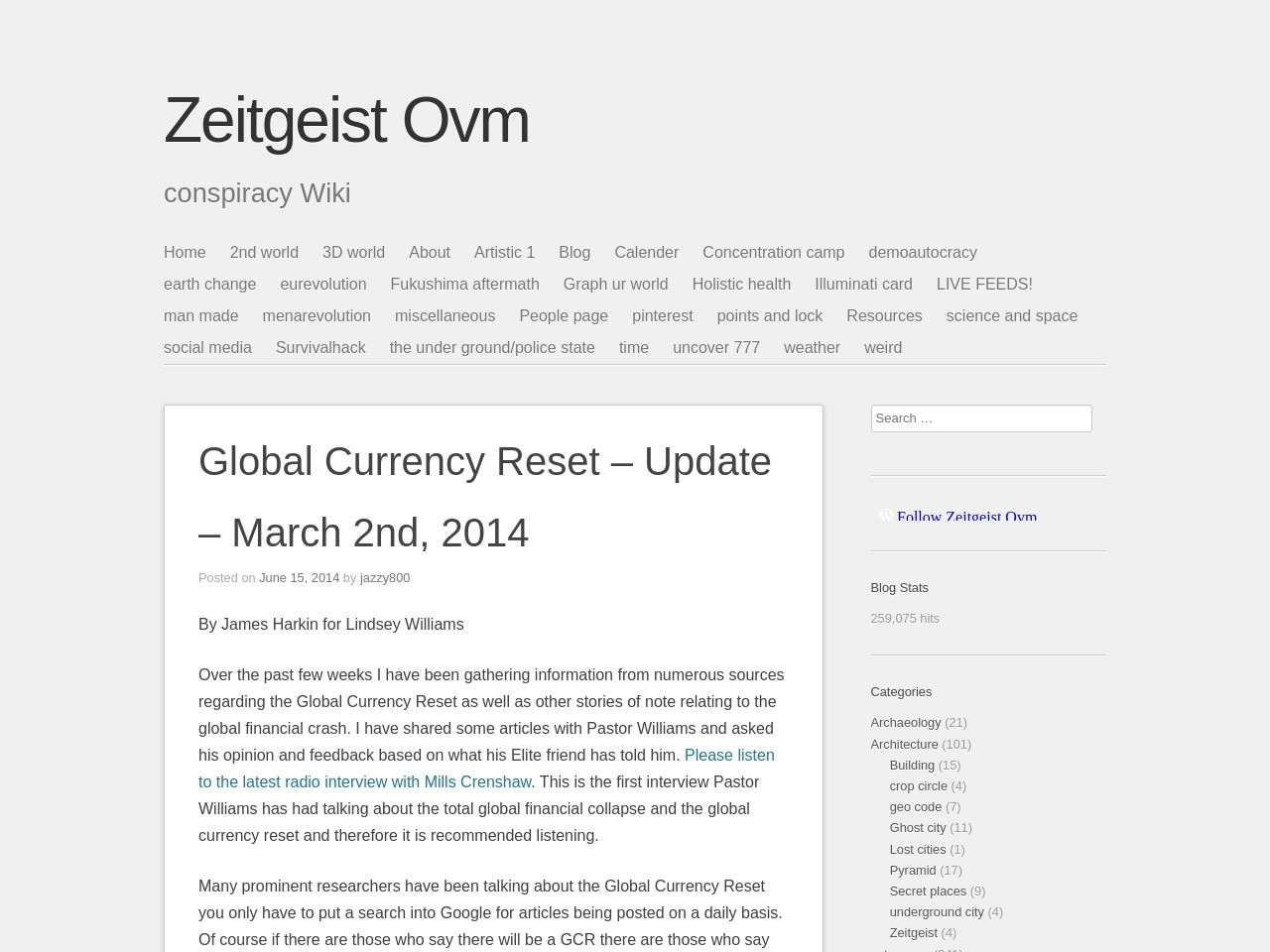 Global Currency Reset – Update – March 2nd, 2014 …