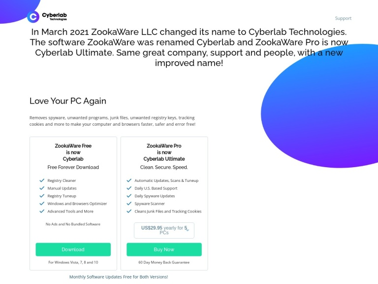 Zookaware screenshot