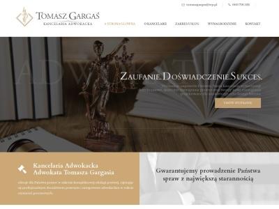 Adwokat Stalowa Wola, Kancelaria Adwokacka Adwokat Tomasz Gargaś