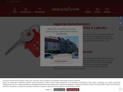 Biuro, agencja nieruchomości Lębork, ubezpieczenia, kredyty - Agencja Fima