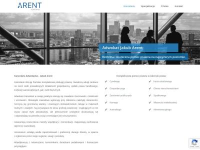 Arent Kancelaria – Obsługa prawna na najwyższym poziomie