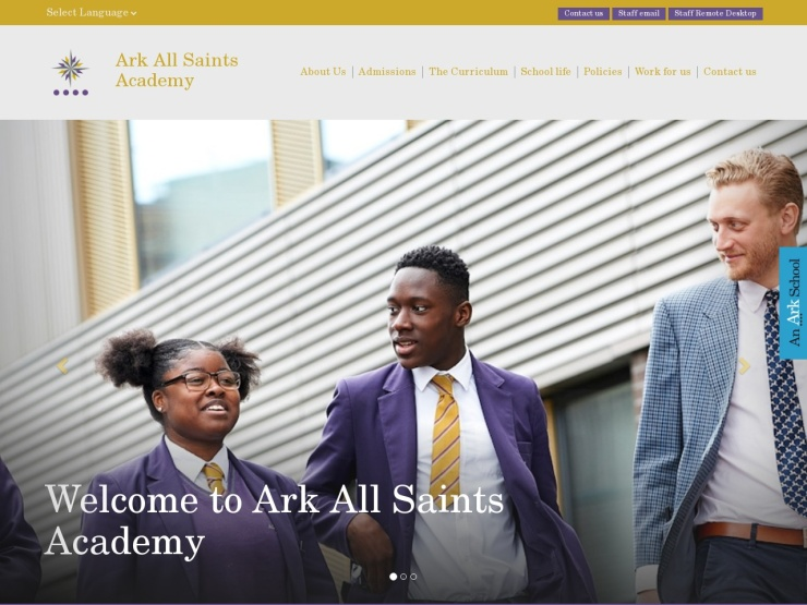 Ark All Saints Academy reviews and contact