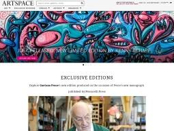 Artspace screenshot