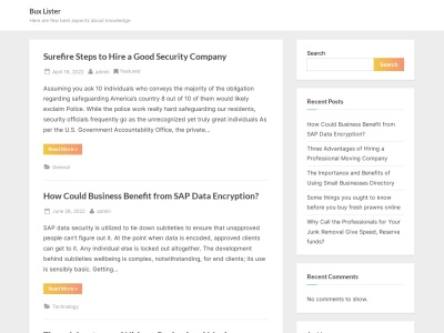 Top Sites - Top Trusted Bux Websites