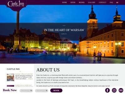 Castle Inn | Warsaw Hotel | Hotel Warszawa, Stare Miasto Warszawa, Tanie noclegi