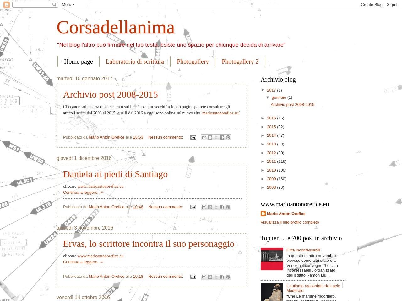 corsadellanima