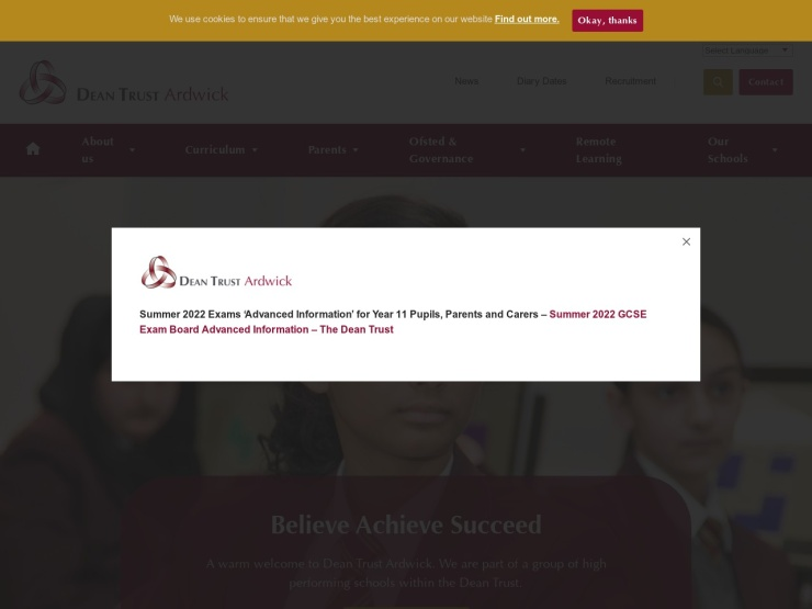 Dean Trust Ardwick reviews and contact
