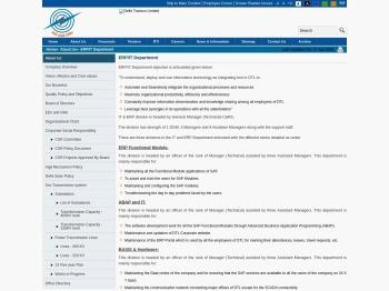 ERP/IT Department : Delhi Transco Limited