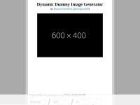 Dynamic Dummy Image Generator – DummyImage.com