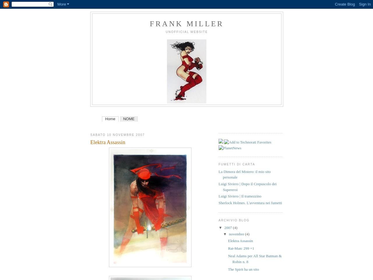 frank-miller-unofficial-website
