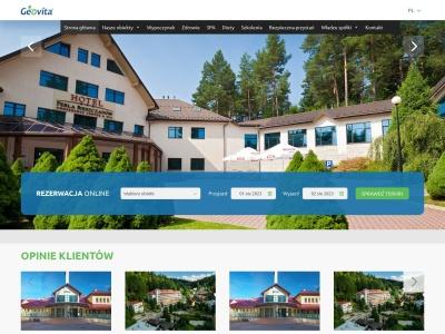 Hotele, ośrodki konferencyjne i SPA - Geovita