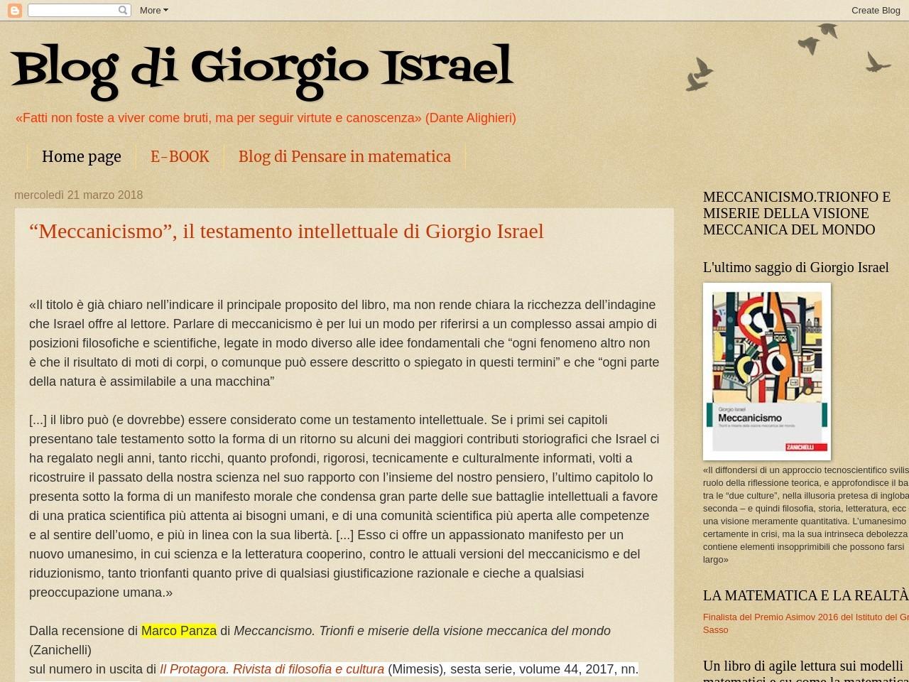 blog-di-giorgio-israel