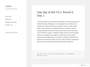 Coalition Advocating for the Inclusion of Sexual Orientation (CAISO)