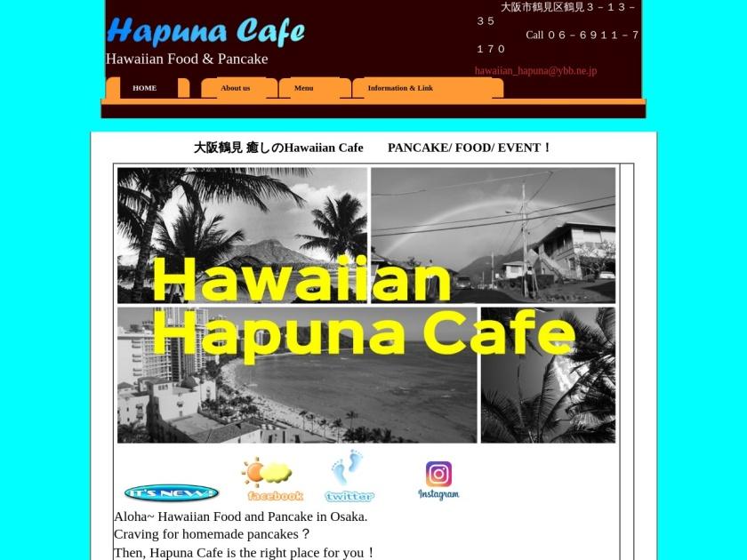 Hawaiian Cafe Hapuna
