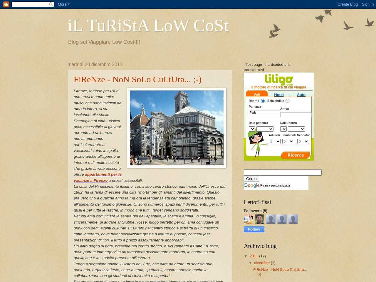 il-turista-low-cost
