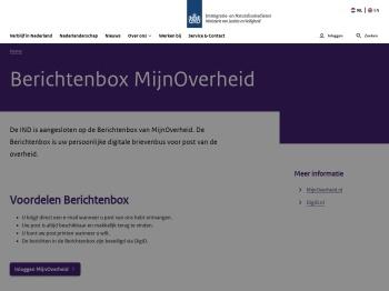 Berichtenbox MijnOverheid | Immigratie- en ... - IND