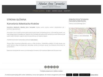 Adwokat Anna Tarnawska | Kancelaria Adwokacka w Krakowie