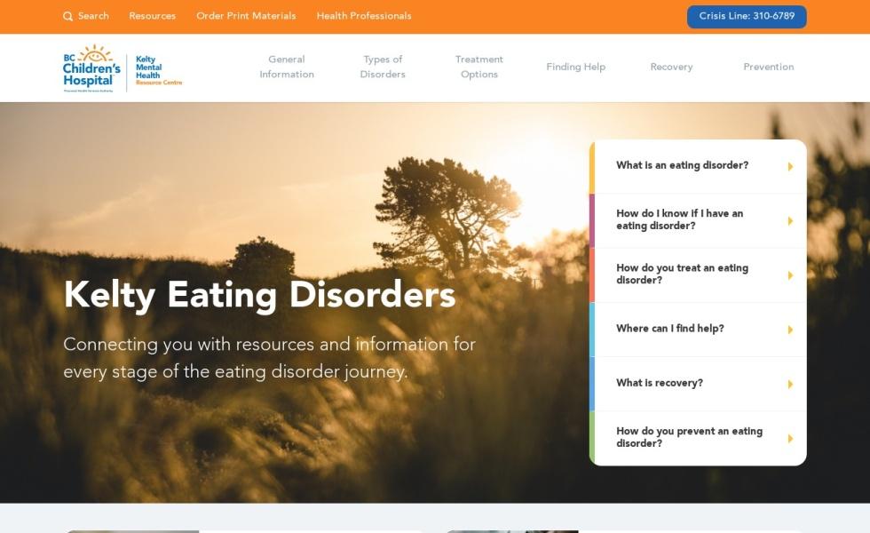 Kelty Eating Disorders