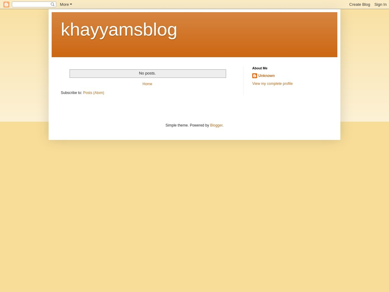 khayyamsblog