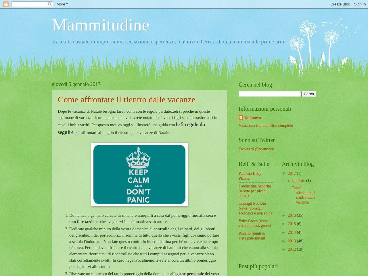 mammitudine