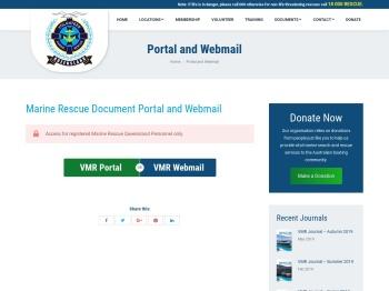 Portal and Webmail - Marine Rescue Queensland