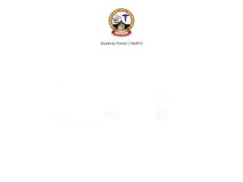 College of Health YAMFO Students' Portal| Portal