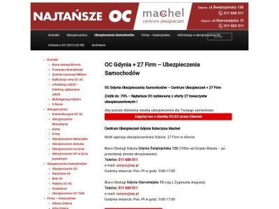 OC Gdynia - Ubezpieczenia Samochodów - TEL 511 603 511