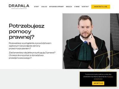 Blog adwokata Wojciecha Drapały o dochodzeniu odszkodow