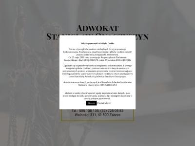 Adwokat Zabrze Stanisław Onaczyszyn - pomoc prawna