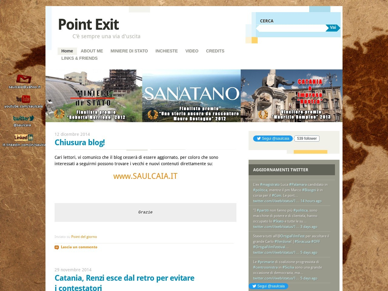 point-exit
