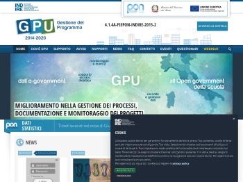 portale INDIRE PON 2014-2020 - GPU