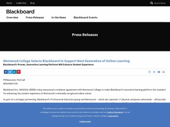 Westwood College Selects Blackboard to Support Next ...
